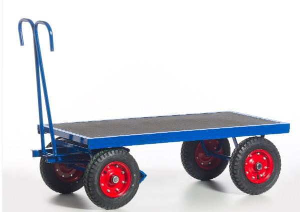 ROLLCART Handpritschenwagen,1000 kg Tragkraft