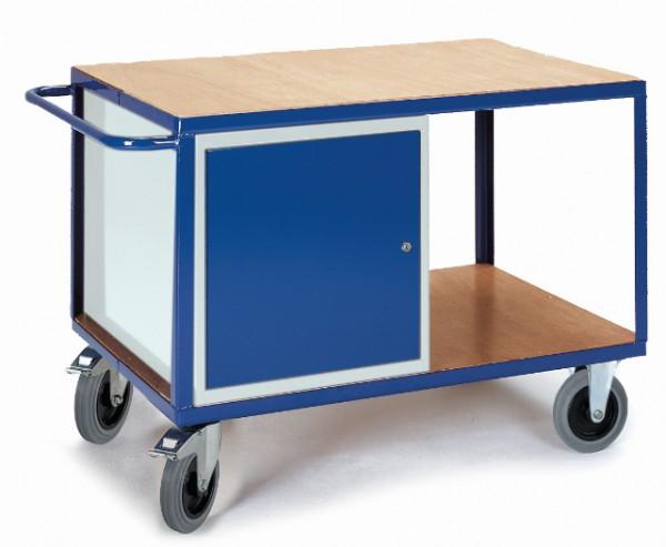ROLLCART 07-4318 Großer Werkstattwagen mit Schrank