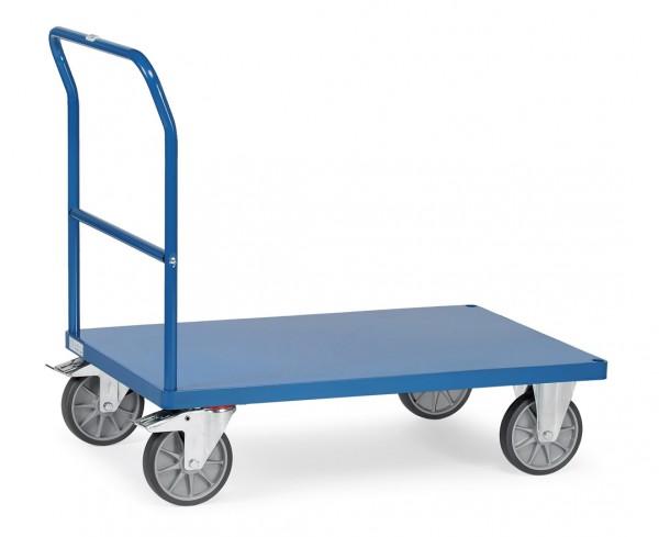 Fetra Schiebebügelwagen mit Stahlblechplattform bis 600 kg