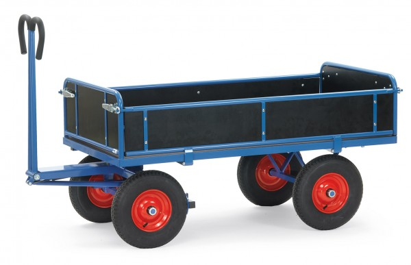 Fetra Handpritschenwagen mit Bordwänden, bis 1250 kg