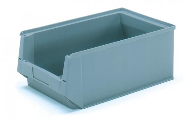 Fetra 1786 Sichtlagerkasten aus Kunststoff, Farbe grau