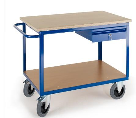 ROLLCART 07-4315 Werkstattwagen mit Schublade, 600 kg Tragkraft
