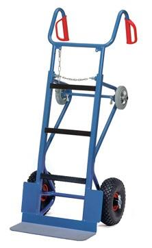 Fetra 11051 schwere Gerätekarre, 400 kg, mit Lufträdern
