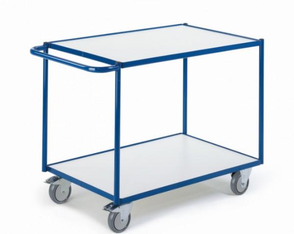 ROLLCART Tischwagen mit zwei Etagen, ESD