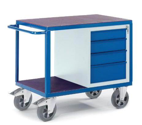 ROLLCART 07-4308-S Schwerlast-Werkstattwagen mit Schubladen