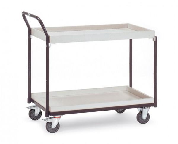 Fetra ESD-Tischwagen mit zwei Kästen, 300 kg