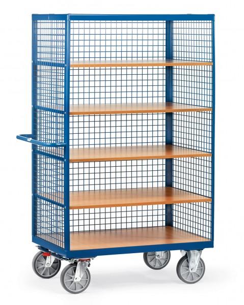 Fetra Offener Kastenwagen mit Drahtgitter verkleidet, 750 kg
