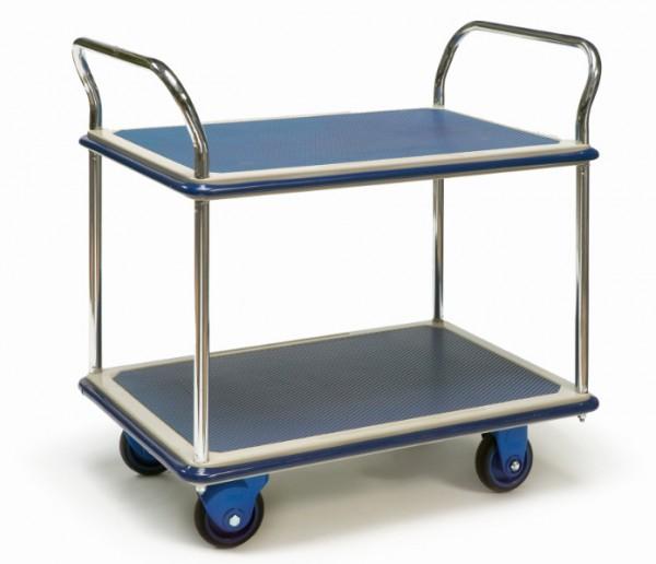 ROLLCART Tischwagen mit zwei Etagen