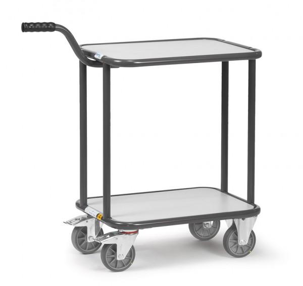 Fetra 1820 ESD-Griffroller mit zwei Plattformen, 250 kg