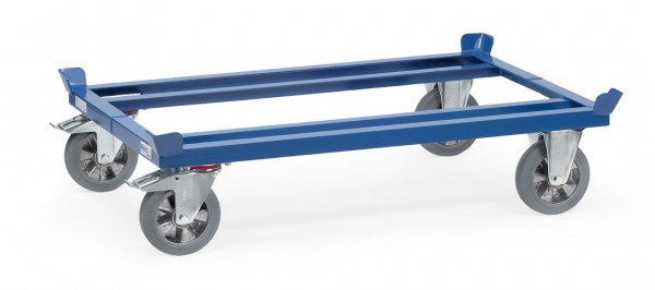 Fetra Paletten-Fahrgestell, 1200 kg, Elastic-Vollgummi-Bereifung