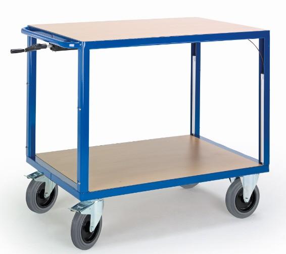 ROLLCART 06-7557 Höhenverstellbarer Tischwagen