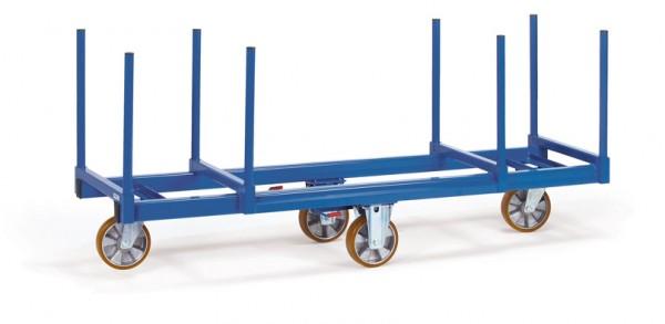 Fetra 2111 Langmaterial-Wagen, 1500 kg, mit Rungen 500 mm lang