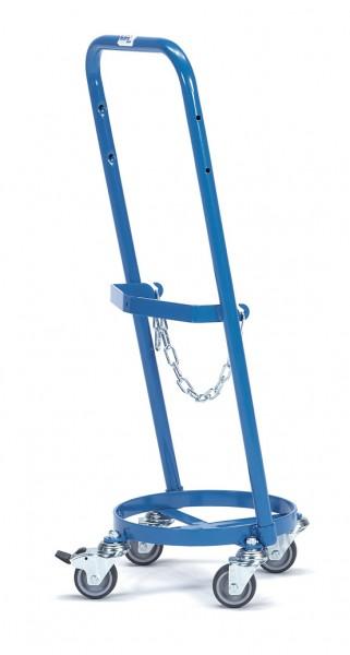 Fetra 51160 Stahlflaschenroller, 80 kg, für eine Propangasflasche