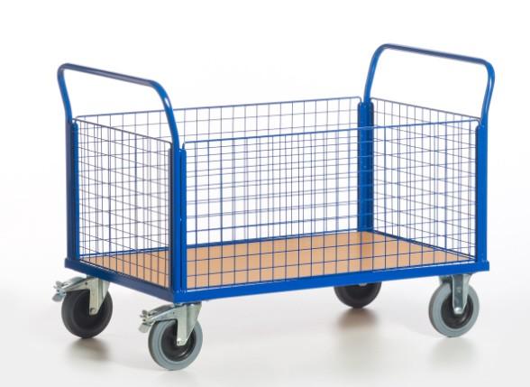 ROLLCART Gitter-Vierwandwagen