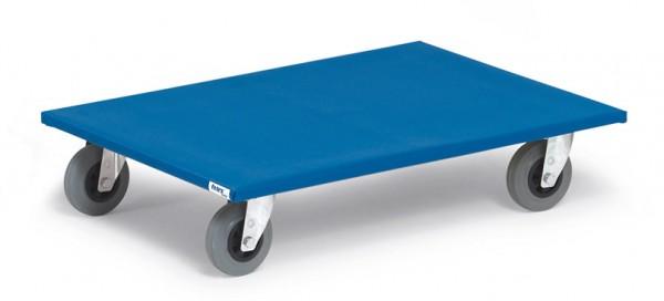 Fetra 2358 Möbelroller, 500 kg, Vollgummi-Bereifung