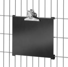 Fetra 28KT3 Kennzeichnungstafel für Kommissionierwagen