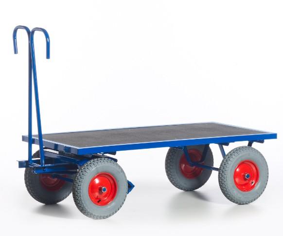 ROLLCART Handpritschenwagen ohne Bordwände