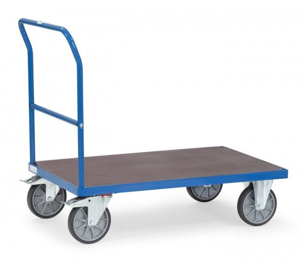 Fetra Schiebebügelwagen mit wasserfester Plattform, bis 600 kg