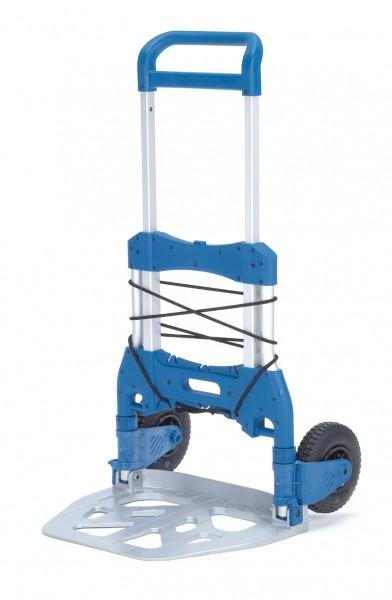 Fetra 1735 Paketroller 250 kg, Höhe 1190 mm, klappbar, Luftreifen