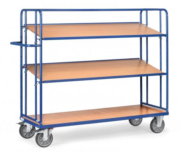Fetra Etagenwagen mit zwei verstellbaren Böden, 500 kg