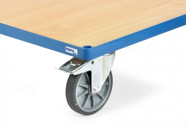 Fetra Räder mit elektrisch leitfähigen TPE-Reifen
