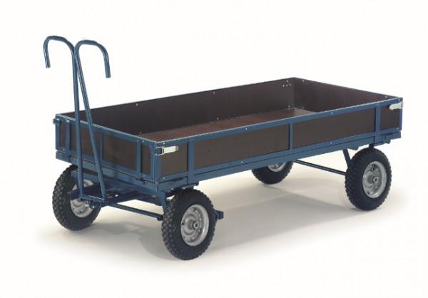 ROLLCART Handpritschenwagen mit Bordwänden