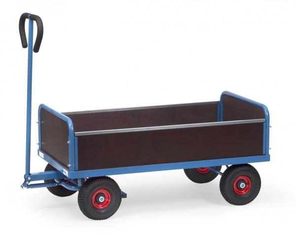Fetra Handwagen mit vier Wänden, 500 kg