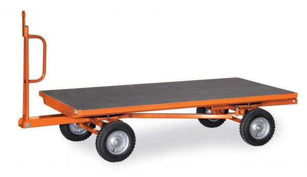 Fetra Industrie-Anhänger, 2-Achs-Drehschemel-Lenkung, 2 Tonnen