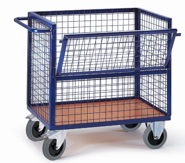 ROLLCART Drahtkastenwagen, 600 kg Tragkraft