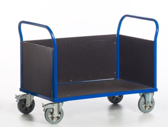 ROLLCART Dreiwandwagen 1200 kg Tragkraft