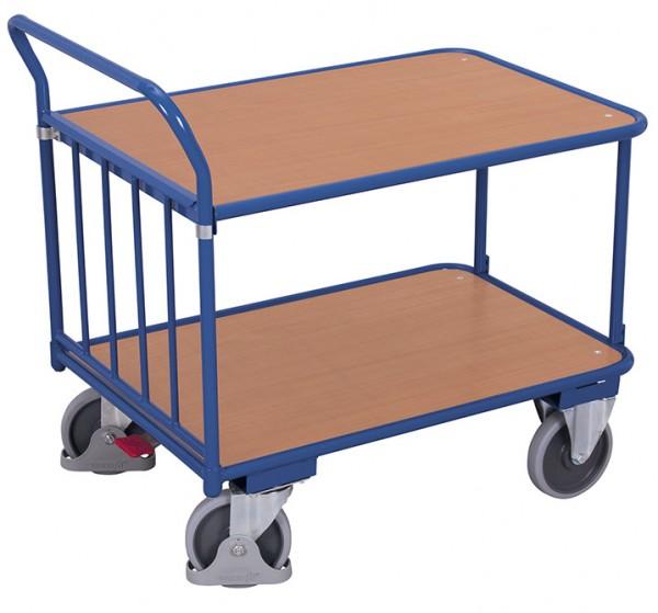 VARIOfit Schiebebügelwagen als Tischwagen, Baukasten-System, EasySTOP
