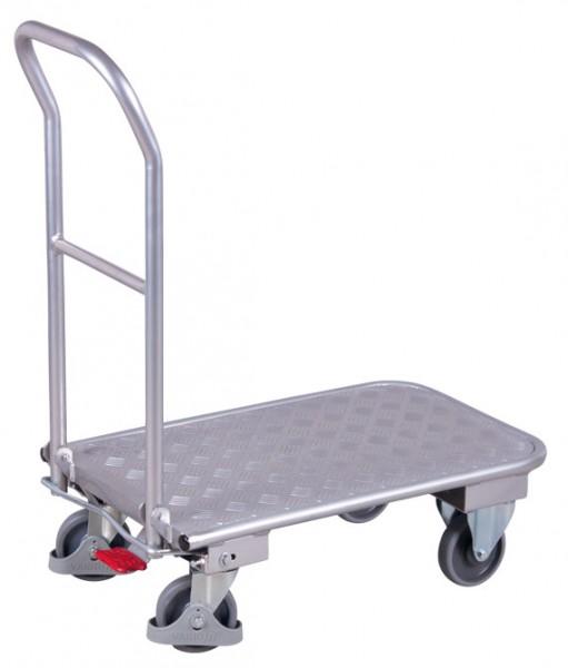 VARIOfit Aluminium-Klappbügelwagen, EasySTOP