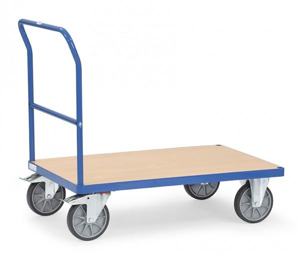 Fetra Schiebebügelwagen mit Holzplattform bis 600 kg