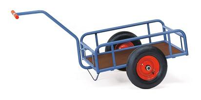 Fetra Handwagen, 1-Achser, offenes Geländer, bis 400 kg