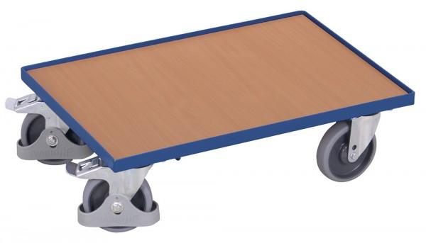 VARIOfit sw-410.010 Euro-System-Roller mit Boden und Rand, 250 kg