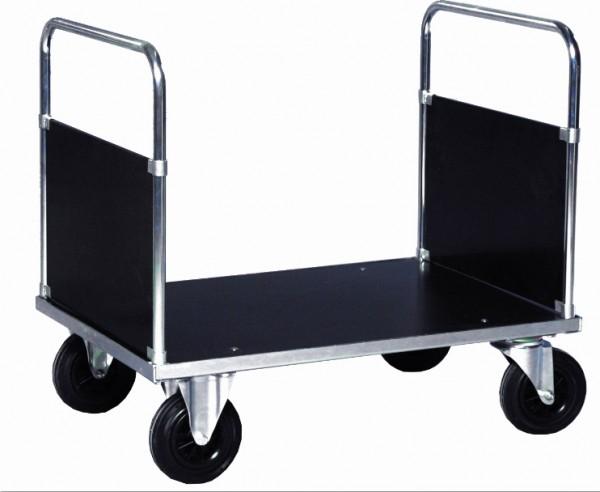 ROLLCART Doppelstirnwagen verzinkt, 500 kg Tragkraft