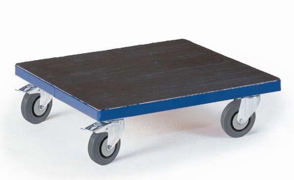 ROLLCART 03-4047 Großer Kistenroller mit Riffelgummi