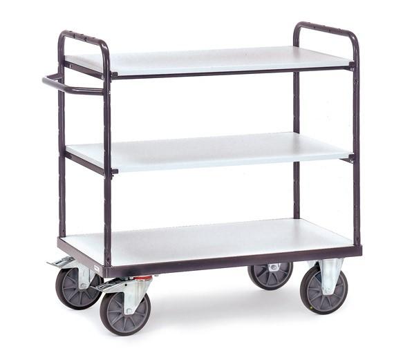 Fetra ESD-Etagenwagen mit drei Böden, bis 600 kg