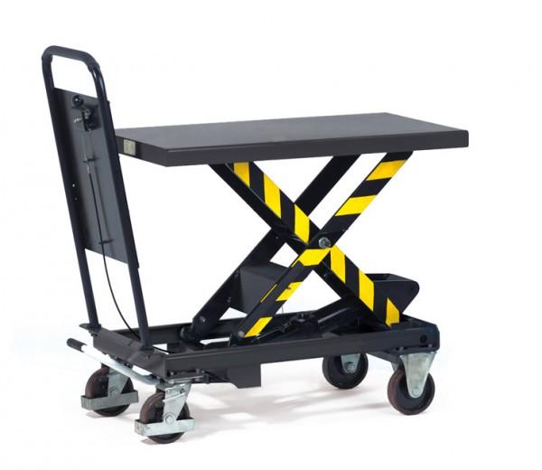 Fetra Hubtischwagen bis 1000 kg, Rohrschiebebügel feststehend