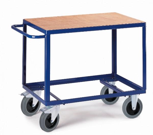 ROLLCART Tischwagen eine Ladefläche, 500 kg Tragkraft
