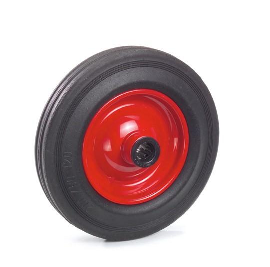 Fetra Vollgummiräder auf Stahlblech- oder Kunststoff-Felgen