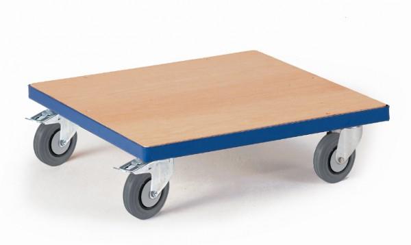 ROLLCART 03-4037 Großer Kistenroller mit Holzladefläche