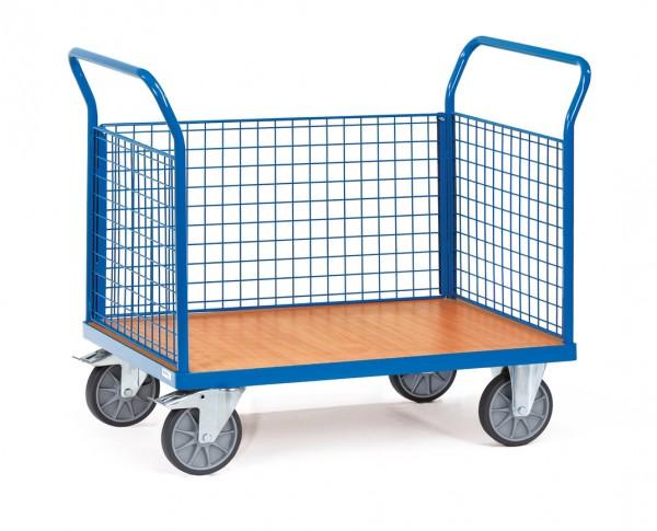 Fetra Dreiwandwagen mit Drahtgitterwänden bis 600 kg