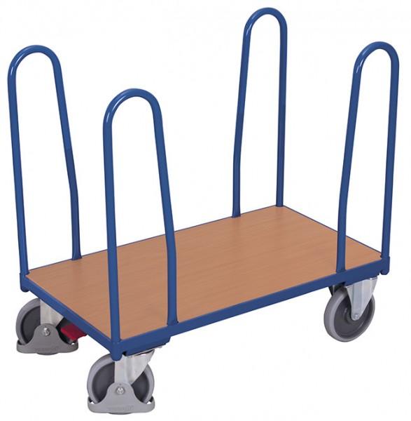 VARIOfit Seitenbügelwagen mit vier Bügeln, Baukasten-System, EasySTOP