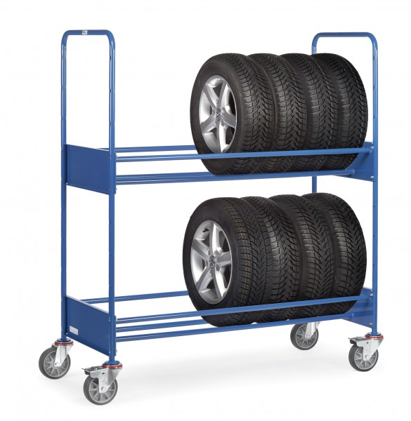 Fetra 4586 Reifenwagen, 250 kg, mit zwei Ladeflächen