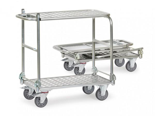 Fetra Alu-Klappwagen mit zwei Plattformen 200 kg