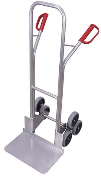 VARIOfit ap-710.210 Aluminium Treppenkarre mit zwei dreiarmigen Radsternen