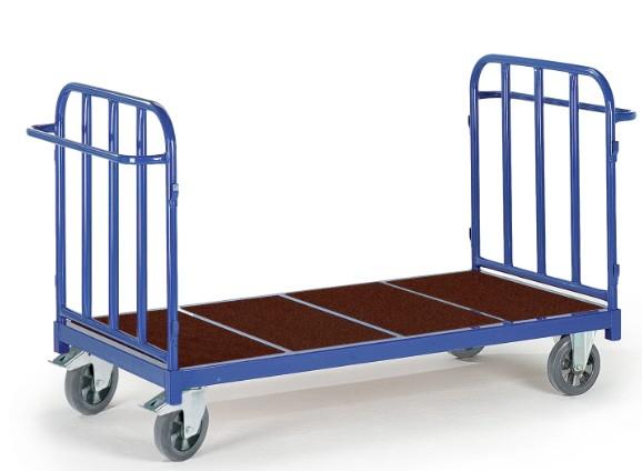 ROLLCART Doppelstirnwandwagen, 1200 kg Tragkraft