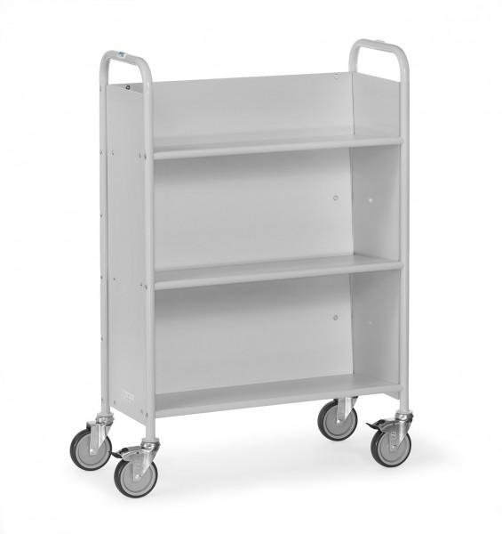 Fetra 4891 Bürowagen mit geneigten Böden und geschlossenen Wänden, 150 kg