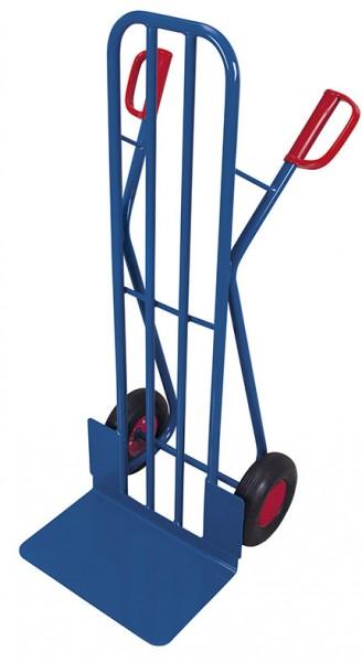 VARIOfit Stahlrohrkarre mit großer Schaufel, 250 kg